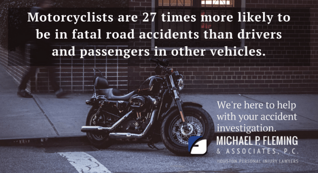 Motorcycle accident lawyers in Houston, Texas.