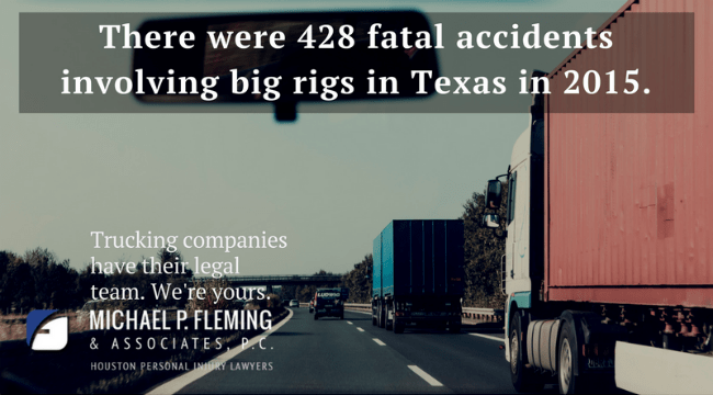 Houston truck accident statistic.