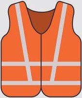 High Visibility Reflective Class 2 Safety Vest