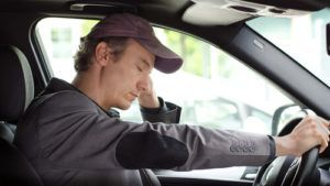 drowsy or fatigued driving accidents