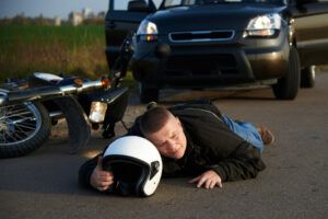 A man injured in a motorcycle accident in Texas