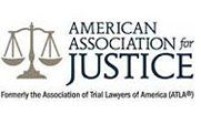 American Association for Justince logo