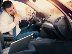 Distracted Driver Truck Accident Lawyer | Cain Law Office