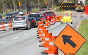 In an Accident in a Construction Zone? Here's What to Do