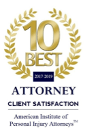 10 Best attorney client satisfaction award | The Law Offices of Hilda Sibrian