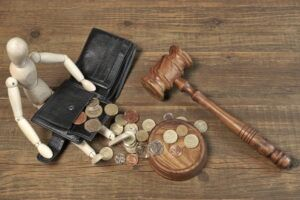 gavel and lost wages