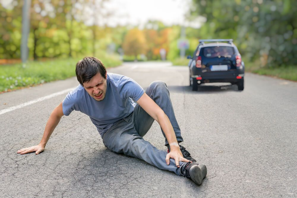 A man injured in a hit and run accident in Fort Wayne, Indiana.