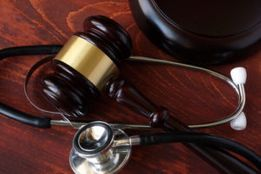 A gavel for a motorcycle accident law suit case in Rock Hill.