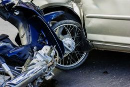 A motorcycle accident in Rock Hill, South Carolina.