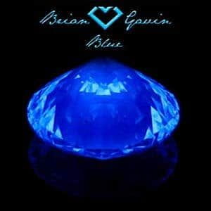 Diamond Blue Fluorescence