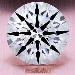 Brian Gavin Signature Hearts & Arrows Diamond, AGS #104063508001