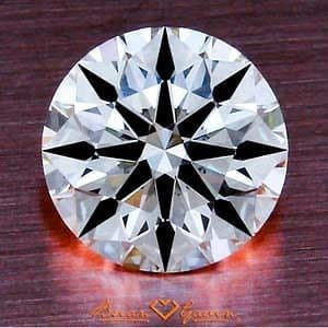 Brian Gavin Signature Round Brilliant Cut Diamond, AGS #104061069021