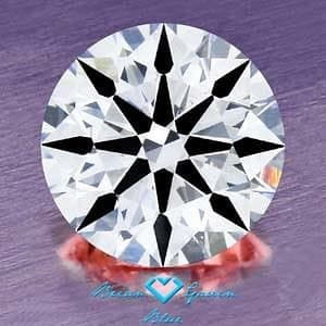 Clarity photograph Brian Gavin Diamond with Blue Fluorescence, AGS #104066449001