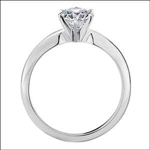 Blue Nile Tiffany Solitaire.