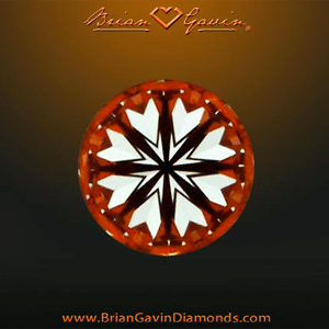 Brian Gavin Signature Diamond Review, AGSL 104064191011 hearts pattern