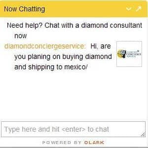 Invasive use of chat service by Diamond Concierge Service dot com