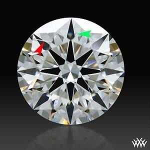 White Flash Expert Selection diamond reviews, AGS 104060182069 full size clarity image
