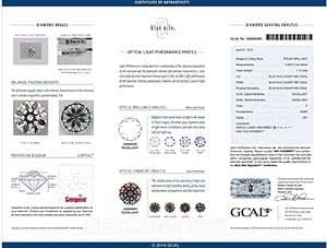 Bue Nile Signature diamond reviews, GIA 5163880617, GCAL 240840083