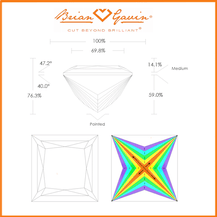 How to Count Princess Chevron Facets