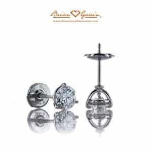 Diamond Studs Martini Settings