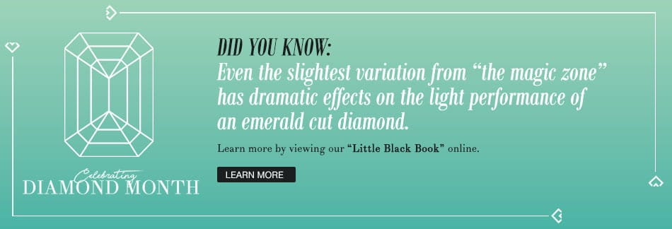 April is Diamond Month. Download the Little Black Book of Diamonds by Brian Gavin.