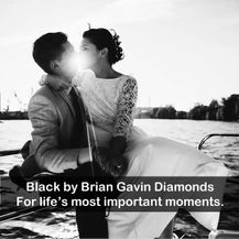 Black by Brian Gavin Diamonds, when you know.