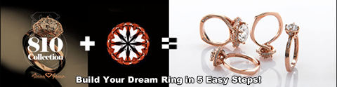 810 Collection by Brian Gavin, Custom Ring Builder Online