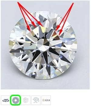 Blue Nile diamond reviews, LD00007594, GIA 2185987022