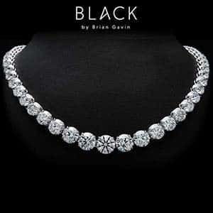 Search Black by Brian Gavin Diamonds, the Sirisha Necklace