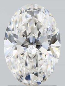 Clarity photo Fcolor diamond with brown shade.