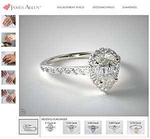 Pave Halo Setting