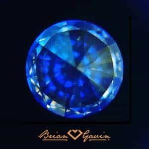 Brian Gavin Blue Fluorescent Diamond