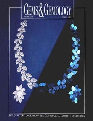 Gems Gemology Winter 1997 Cover