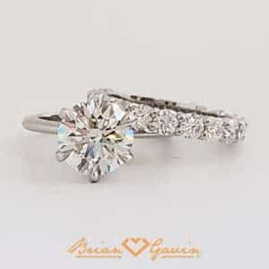 2 Carat Solitaire Brian Gavin Diamonds