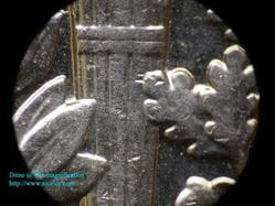 17.9mm US Dime at 40x magnification.