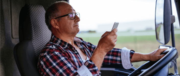 Truck Drivers and Distracted Driving: a Deadly Combination