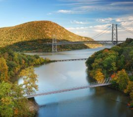 Hudson River Valley in Rockland County in New York.