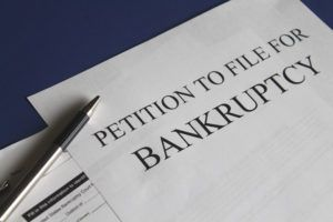 Chapter 13 bankruptcy petition in White Plains, New York.
