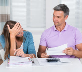 Couple having problems with filing for bankruptcy in New York.