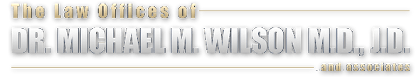The Law Offices of Dr. Michael M. Wilson M.D., J.D. & Associates - Footer Logo