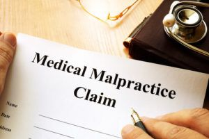 a medical malpractice claim