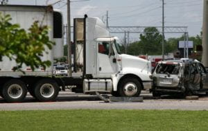 18 wheeler t-bone accident