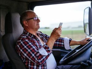truck driver distraction accidents