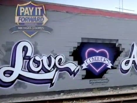 Pay it Forward: Mural for Community of El Paso - Michael Gopin