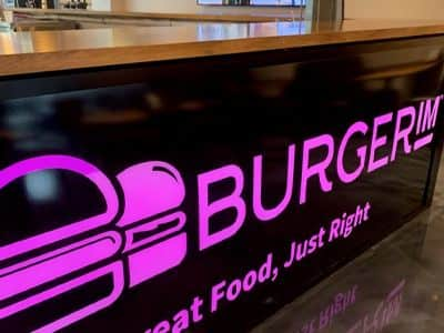 BurgerIM Lighted indoor sign