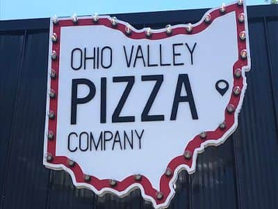 Ohio Valley Pizza outdoor sign