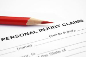 pencils and personal injury claims form