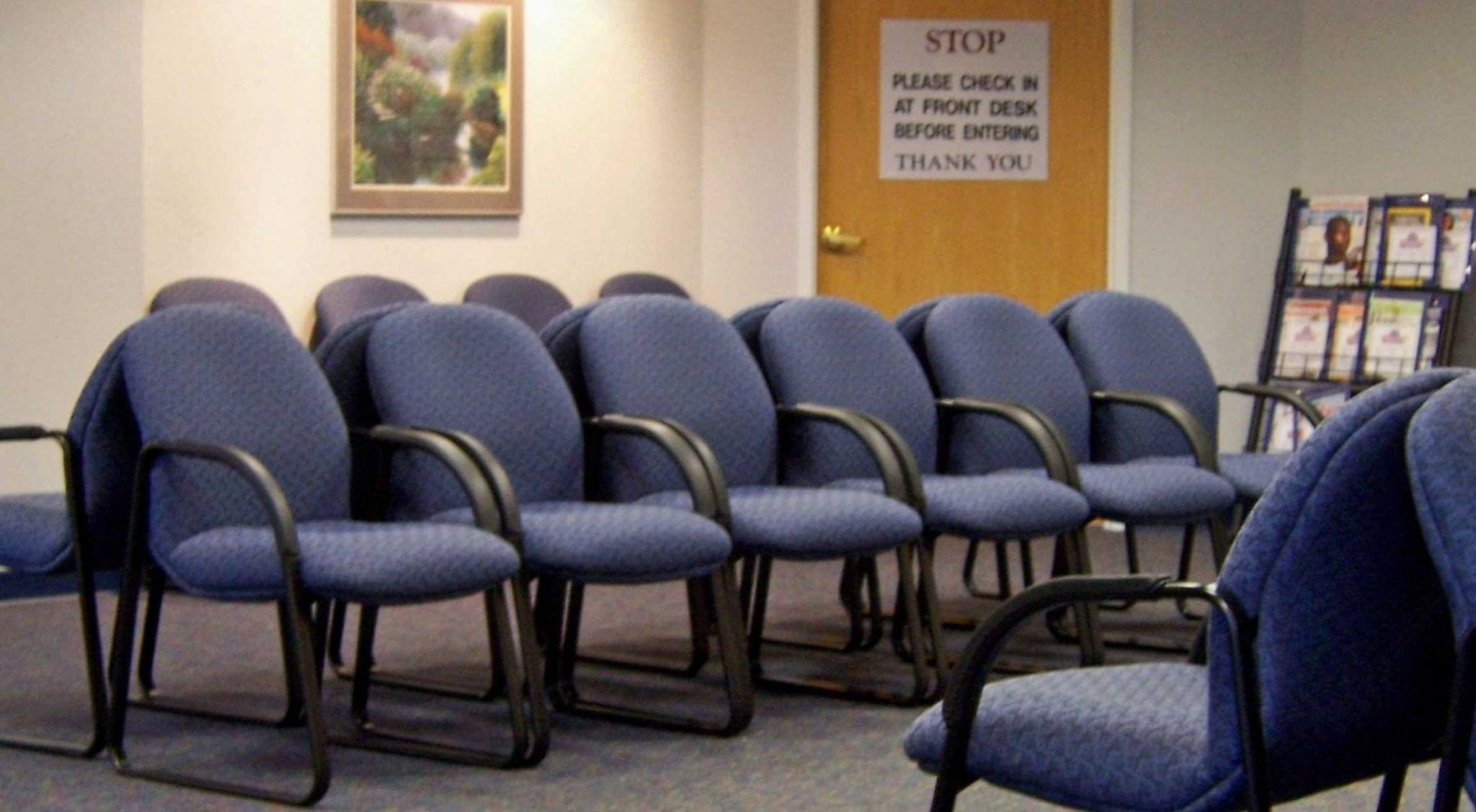 doctor's waiting room chairs