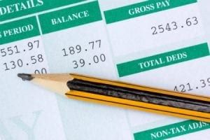 Pencil on the balance sheet