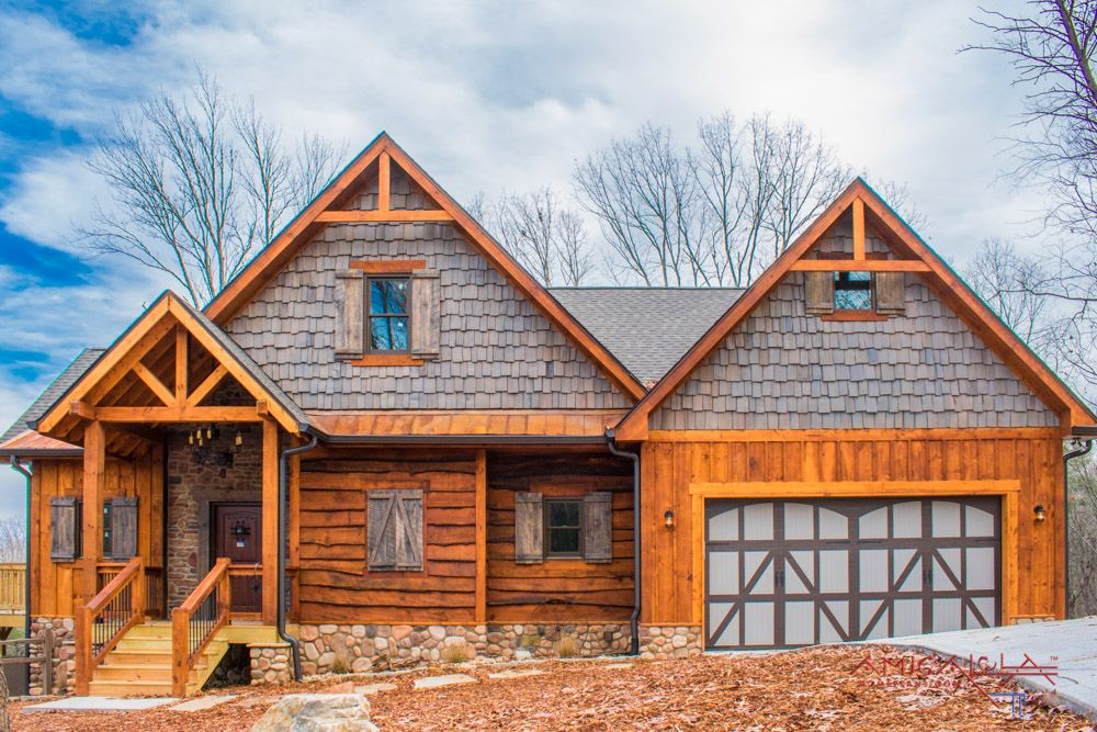 Anna Ruby Falls Cottage Designed by Beardslee Homes